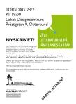 Sätt litteraturen på Jämtlandskartan