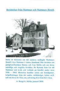 Berättelser från Mattmar och Mattmars Hotell