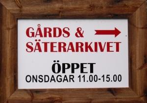 Gårds och Säterarkivet