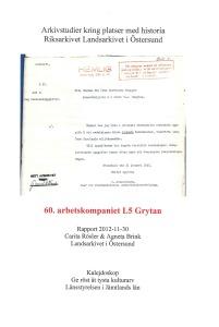 Arbetskompaniet i Grytan