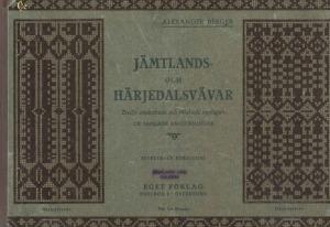 Jämtlands- och Härjedalsvävar