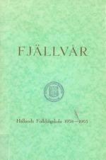 Hållands folkhögskola 1938-1963