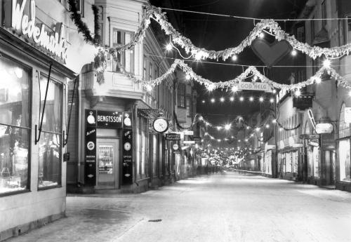 Julskyltning i Östersund