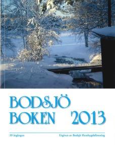 Bodsjöboken 2013