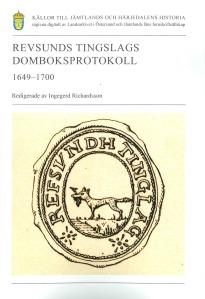 Revsunds tingslags domboksprotokoll 1649-1700