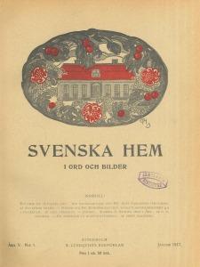 Svenska hem i ord och bilder