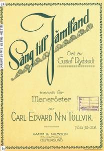 Sång till Jämtland