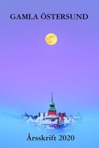 Fullmåne på vinterhimmel öv